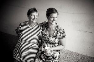 Min mor och jag.